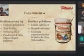 Tektandr bude značka pečených čajů z lokálních surovin pro příjemné rodinné večery. Pití čaje zpříjemní četba příběhů na pokračování o cestovateli Tektandrovi. Foto: Printscreen finálové prezentace