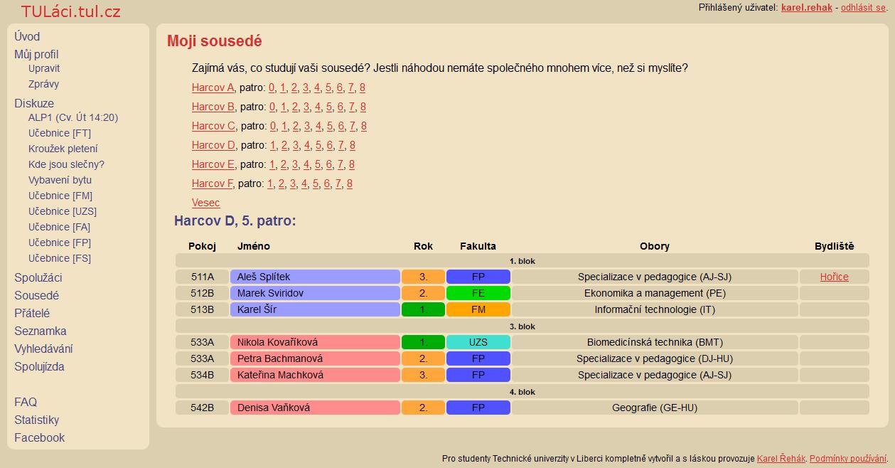 Akademické seznamovací web